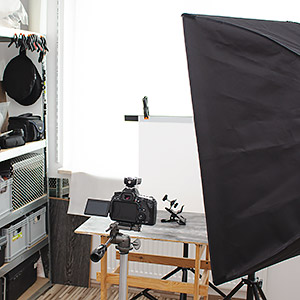 domowe studio foto