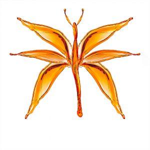 motyl z chlapnięć