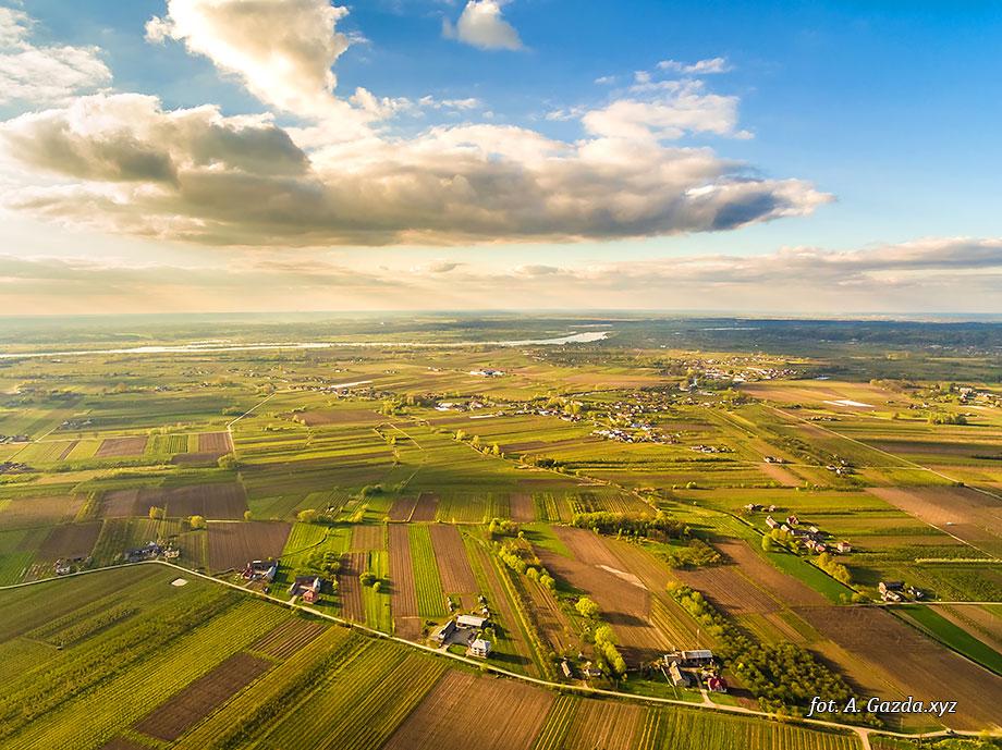 Krajobraz z lotu ptaka