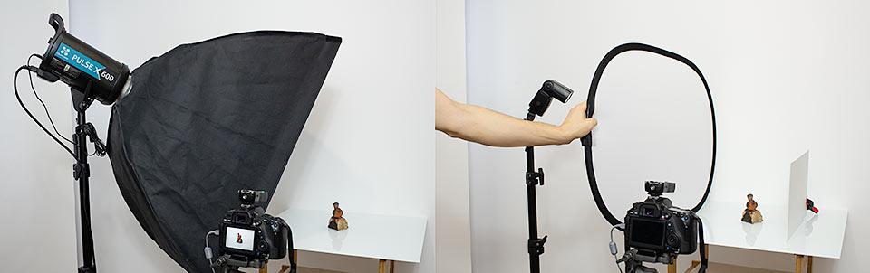 Fotografia produktowa w domowym studio